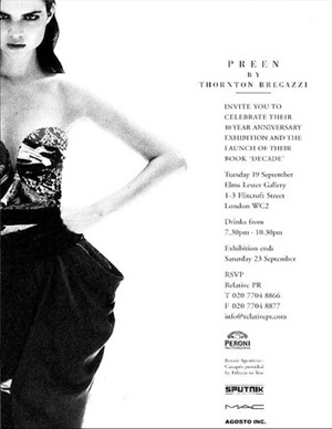 "Preen ""Decade"" - London 20biography_exhibitions_07"